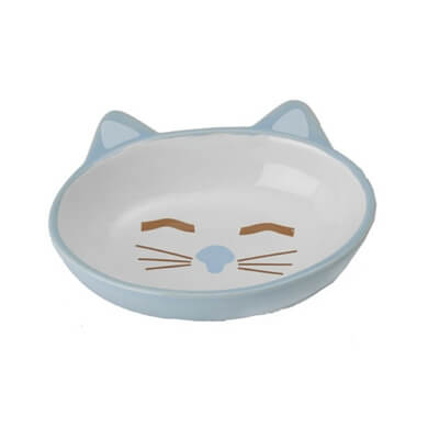 Petrageous Stoneware Pet Bowls Here Kitty