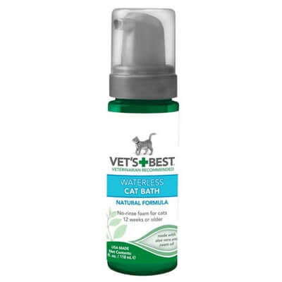Vet's Best Clean Waterless Cat Shampoo
